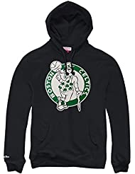 Mitchell & Ness Boston Celtics NBA Logo Sweat à capuche noir