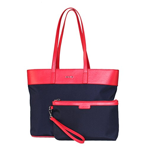 Ladies canvas borsa a tracolla/nylon oxford tessuto semplice ol tote bag-B A