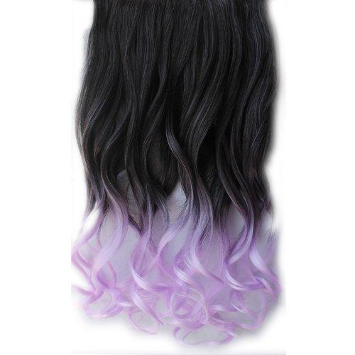 2013 New Fashion Ombre cheveux One Piece clip dans Extension de cheveux bouclés