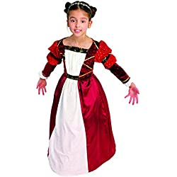 Hilmar Krautwurst - Disfraz de medieval para niña, talla 5 años (B513-001)