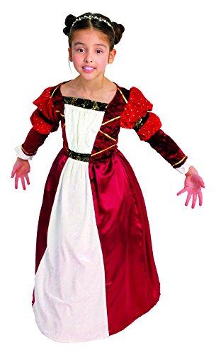 Mattel césar b513-001 - costume per travestimento da principessa medievale