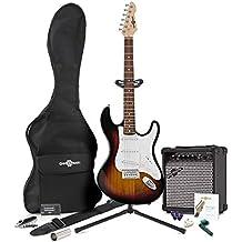 Guitarra Eléctrica LA + Pack Completo - Sunburst