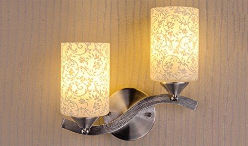 Applique LED Applique double tête de chevet Lampes Salon Chambre Aisle Escaliers lampes pour mur
