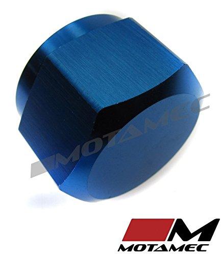 Motamec 24/mm An12/carburant Colliers de serrage dextr/émit/é de finition en alliage de jubil/é de t/ête hexagonale Bleu