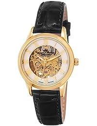 Yonger & Bresson YBD 8525-03 - Reloj de pulsera mujer, piel, color negro