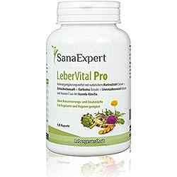 SanaExpert LeberVital Pro, capsule depurative per il fegato, 120 pezzi
