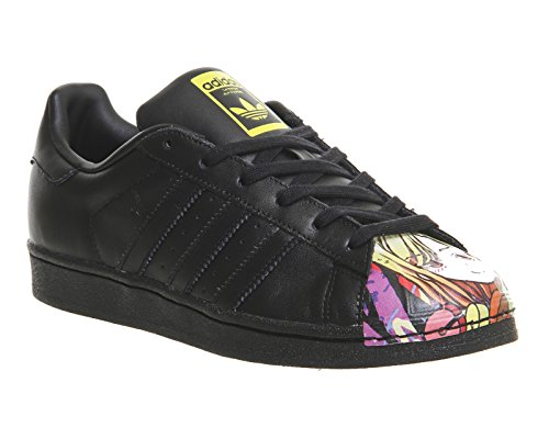 adidas , SUPERSTAR 1 MR SPORT SHELL TOE mixte adulte noir/rouge