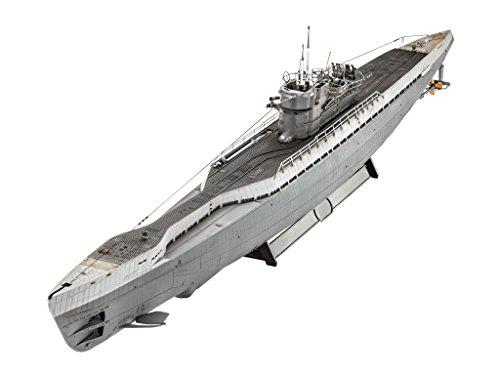 Revell Modellbausatz Schiff 1:72 - Deutsches U-Boot TYPE IX C/40 (U190) im Maßstab 1:72