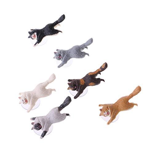 LyGuy COOL Mr Cat Handyhalter Stand Sucker Tablets Smartphone Halter Katze-Handyhalter -