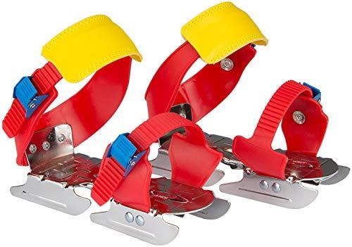 Nijdam Kinder Gleitschuh verstellbare Rot/Blau/Gelb 24-34