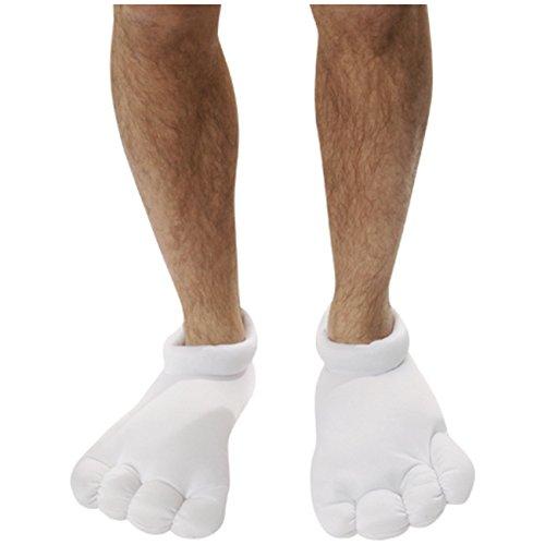 Kostüm Cartoon Schuhe - Spassprofi Füße Cartoon Figur Zeichentrickfigur Schuhe Bekleidung Comic Fasching Kostüm