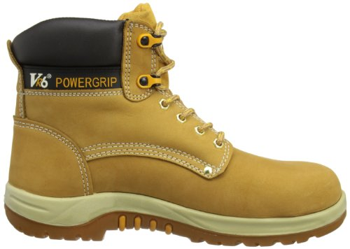 V12 Puma, Nubuck Safety Boot, 12 UK 47 EU, Honey Braun (Honey)