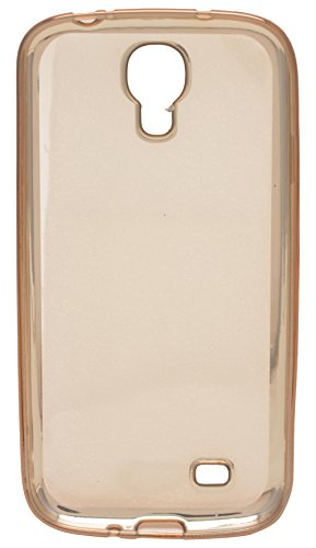 AaroGlobal Luxury Soft TPU Clear GOLD Case Silicon Gel Back Cover Full Cover Shockproof Durable Cover for Samsung Galaxy S4 i9500  available at amazon for Rs.124
