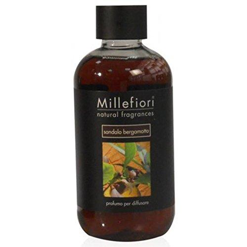 Millefiori Natural Ricarica per diffusore di fragranza per ambienti 500ml fragranza Sandalo...