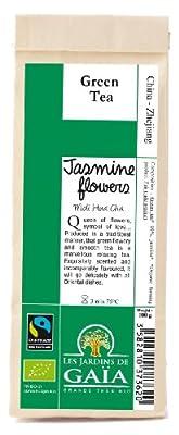 Jardins de Gaïa Thé vert Bio Equitable - Jasmin Flowers 100g