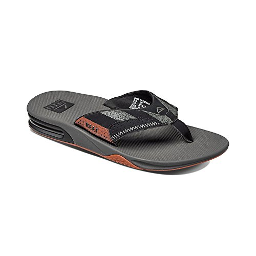 Reef Fanning Prints, Flip-flop homme Multicolore - Varios colores (Burgundy Stripe)