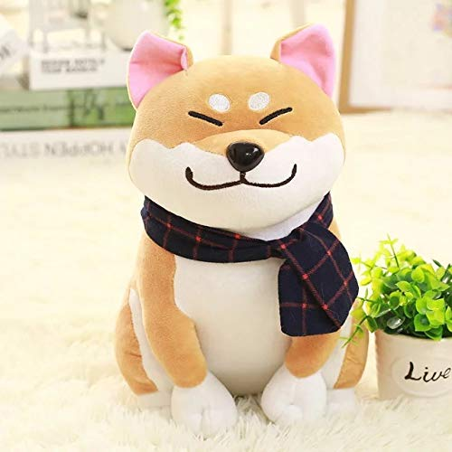 Lefang Shiba Inu Doll Cute Puppy 10 Inch Akita Plush Toy Wang Xingren Geschenk für Kinder/Paar/Freunde,Brown - Plüsch Winter-pokemon