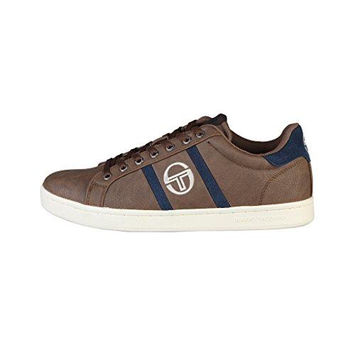 Chaussures baskets homme marrons Tacchini NIZZA_ST624111_03_Antilope-aster Marron