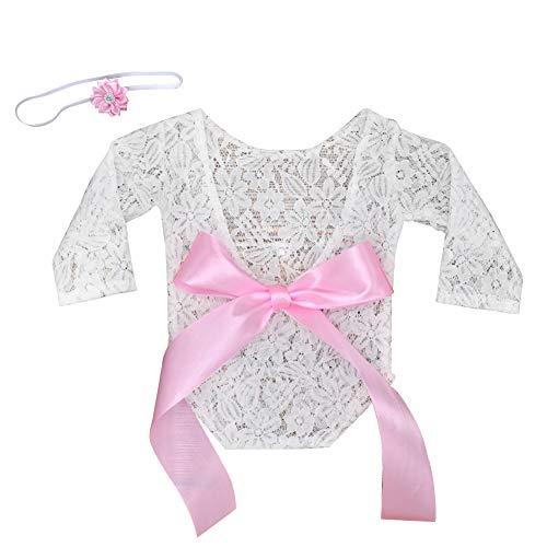 Ssowun Baby Fotoshooting Kostüm, Baby Fotografie Spitze Neugeborene Foto Babyfotografie Requisiten Photo Prop Wrap Newborn - Billig Neugeborenen Kostüm