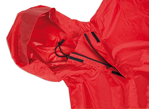 Tatonka Regenschutz Poncho 1 Red