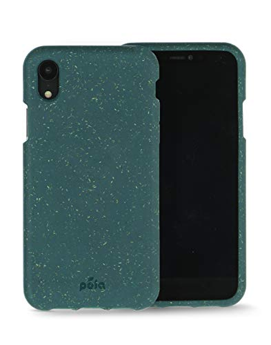 Oferta de Pela - Funda para el iPhone XR - 100% compostable - Biodegradable - Hecho con Plantas - Cero residuos (XR Green)