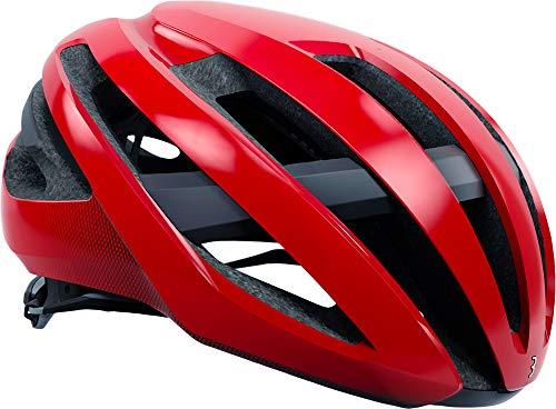 BBB Maestro BHE-09 Helm rot Glanz Kopfumfang M | 55-58cm 2019 Fahrradhelm