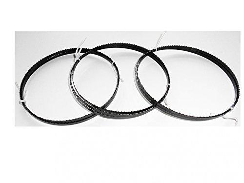 3 x Sägebänder Sägeband 1425 x 6 x 0,65 mm 6 ZpZ Holz Hartholz Interkrenn Güde Test