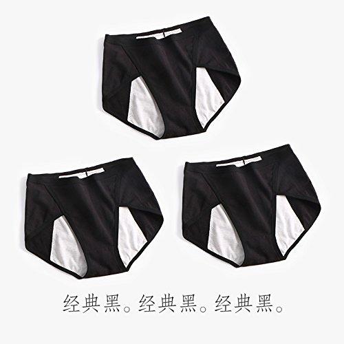 YMFIE Morbido e traspirante confortevole la biancheria intima di cotone 3 pantalone donna A