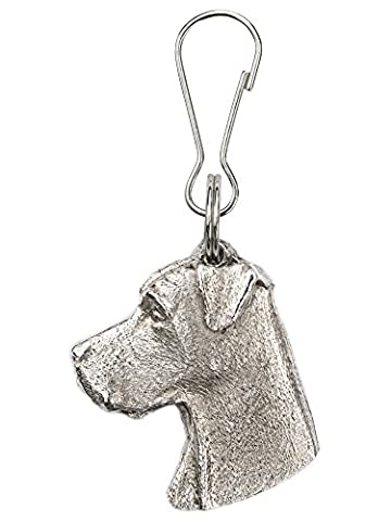 Great Dane(Head) Made in U.K Artistic Style Dog Zip Pull Collection