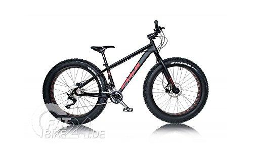 """FUJI WENDIGO 1.1 Fat Bike Fatbike Moutenbike MTB mit 4.7"""" Vee Tire Bulldozer Reifen und 100mm Weimann Hohlkammerfelgen Modell 2016"""