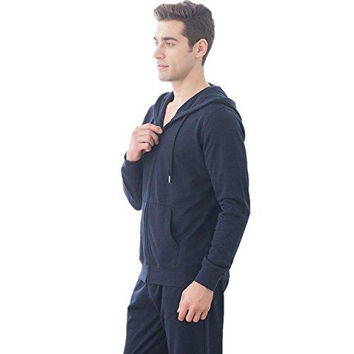 DMMSS A maniche lunghe con cappuccio maglione uomo cotone Sports