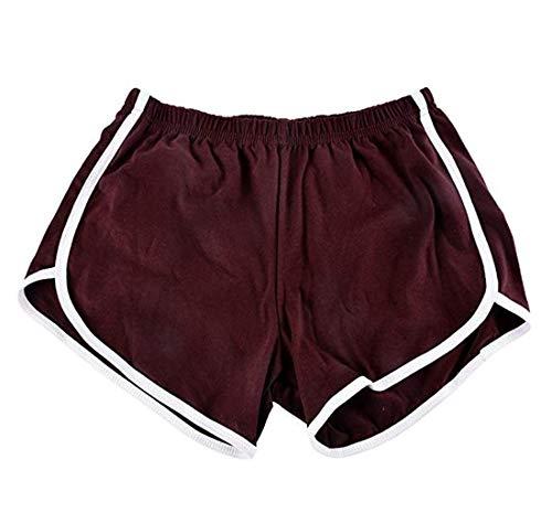ILOVEDIY Damen Shorts Pants Retro Panty Vintage Sporthose - Booty Shorts