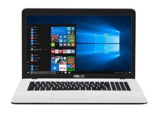 "ASUS K751SA-TY175T - Portátil de 17.3"" HD (Intel Celeron N3060, 4 GB RAM, 1000 GB HDD, Intel HD Graphics 400, Windows 10) Blanco - Teclado QWERTY Español"