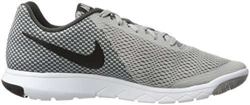 Nike Flex Experience Rn 6, Sneakers Homme, Nero / Arancione Gris (Wolf Grey/black/anthracite/white)