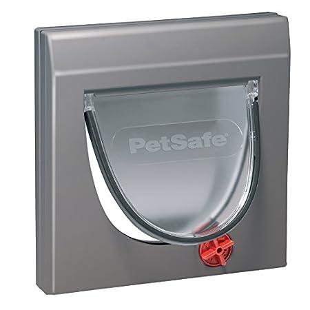 PetSafe Staywell Klassische Katzenklappe, 4 manuelle Verschluss-Optionen, Für Holz, Glas, PVC, Ziegelwände mit einer…