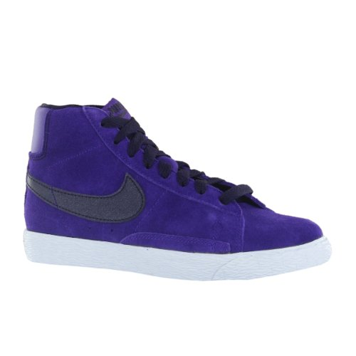 NIKE Blazer Mid Vintage PS 549552005fille Moda Chaussures Multicolore - Purple Weiß Schwarz