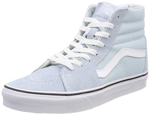 Vans Damen Sk8-Hi Hohe Sneaker, Blau (Baby Blue/True White Q6k), 36.5 EU