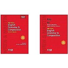 Wren & Martin - High School English Grammar and Composition & Key (Set of 2 books)