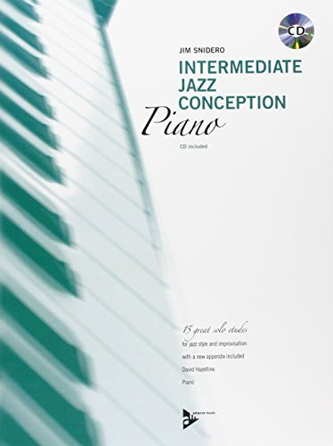 Intermediate Jazz Conception for Piano - piano - method with CD - (ADV 14787) by Jim Snidero (2000-01-01)