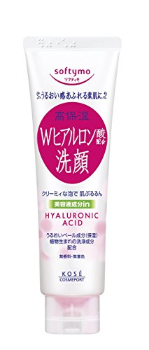 KOSE COSMEPORT softymo Facial Washing Foam Hyaluronic Acid 150g (japan import) (Creme Kose Gesicht)