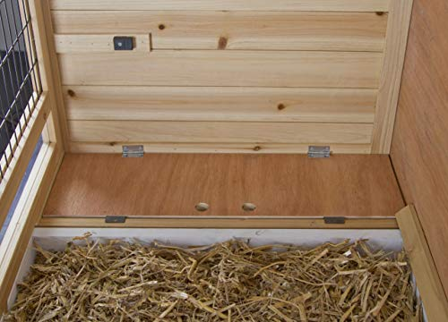 Kerbl 81703 Kleintierkäfig Indoor Deluxe Doppelstöckig, 115 x 60 x 118 cm - 6
