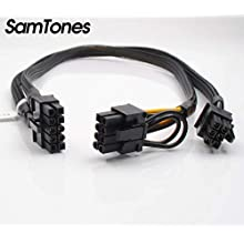 SamTones 10Pin to 6 and 8Pin Power Adapter Cable for HP ProLiant DL580 G7 and GPU 50CM