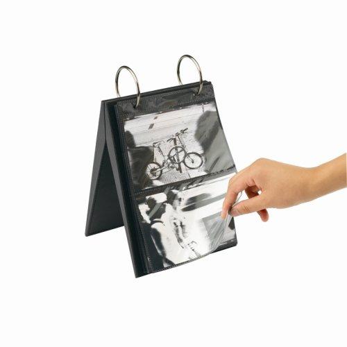 Umbra 308082-040 Portofoto Fotoalbum / -ständer für 104 Fotos 10 x 15 cm und 18 x 29 cm schwarz - Umbra-foto-album