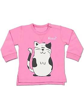 Tiermotive Baby - lustige Katze - Baby Pullover