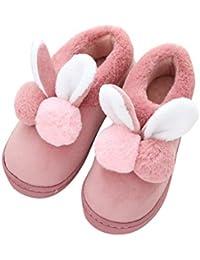 Gysad 1 X Paio di Pantofola in Cotone Pantofole Unisex Invernali Comodo  Caldo Coniglio Pantofole Home 904dc822908