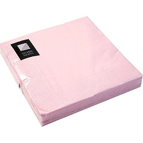 Serviette Papier Rose - 100X de luxe de haute qualité 3plis