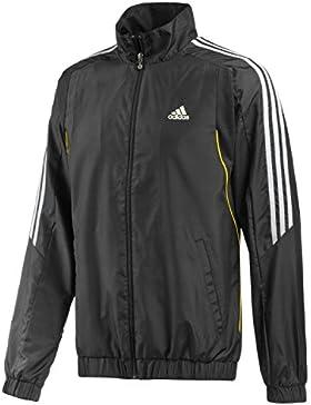 adidas, Felpa Uomo Response TS, Nero (black/white), S
