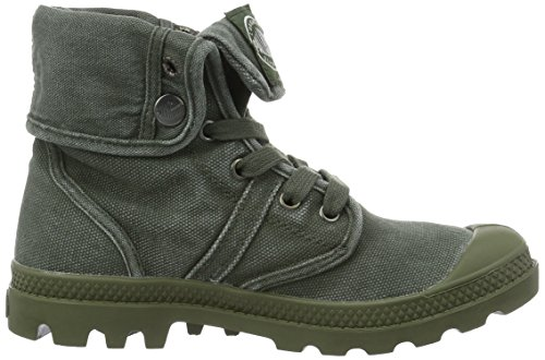 Palladium Pallabrouse Baggy, Anfibi Donna Grün (334)