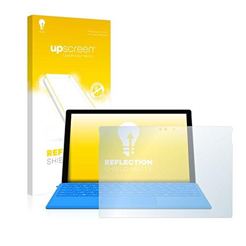 upscreen Reflection Shield Displayschutzfolie Microsoft Surface Pro 4 Schutzfolie Matt – Entspiegelt, Anti-Fingerprint Microsoft Surface Schutzhülle