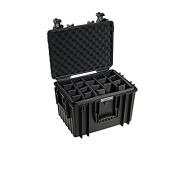 B&W outdoor.cases type 5500 with padded divider system (RPD) - The Original
